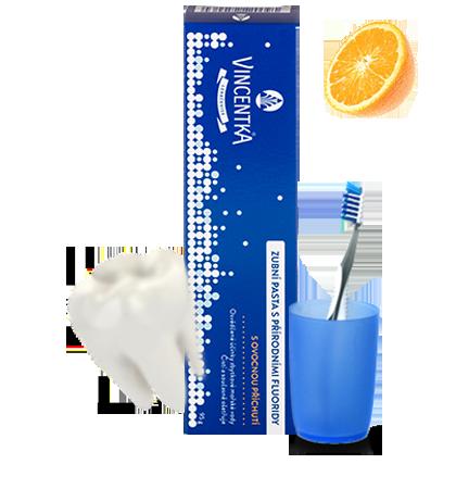 VINCENTKA zubní pasta